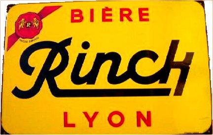 Bière RINCK LYON