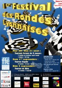 1er Festival des Rondes Lyonnaises @ Lyon Olympique Échecs | Lyon-9E-Arrondissement | Auvergne-Rhône-Alpes | France
